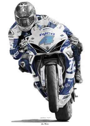 guy martin blue canvas